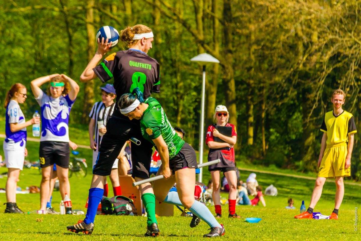 Interval training on a broomstick: Quidditch taking off in the Netherlands
