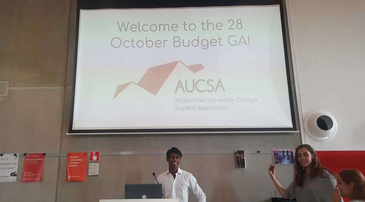 [Live Blog] The 2017-2018 AUCSA Budget General Assembly: As It Is Happening