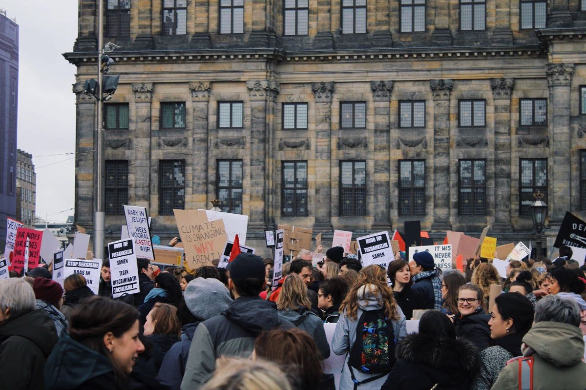 Perspectives of AUC Students at the Women's March on Amsterdam 2019